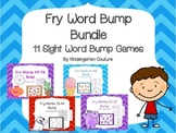 Fry Word Bump Bundle  11 Sight Word Bump Games