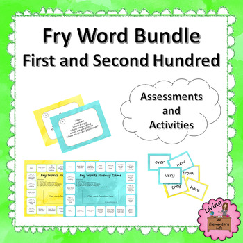 Fry Word Bundle - First and Second Hundred