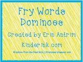 Fry Word Dominoes