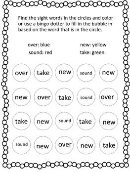 Fry Word Dot Art 101-200