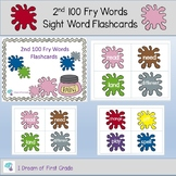 2nd 100 Fry Words Flash Cards
