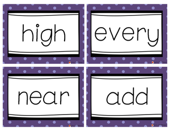 Fry Word Flash Cards Level 3