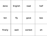Fry Word Flashcards Fifth 100 Words