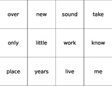 Fry Word Flashcards Second 100 Words