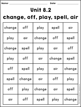 Fry Word Fluency Charts Second 100 Words