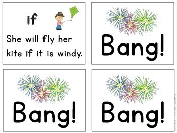 Sight Words: Kindergarten Reading Fluency Game using the 1st 50 Fry Words {ESL}