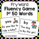 Sight Word Game: Kindergarten Reading Fluency using the 1s
