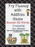 Fry Word Fluency with Addition Game First 200 words