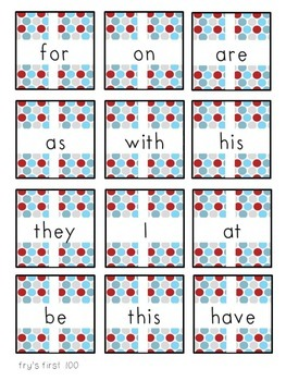 Fry Word Game: The Gift of Sight Words (1-300)