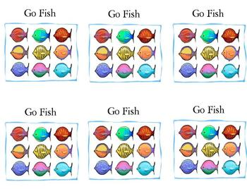Fry Word Go Fish Card Game (All Words 1-300)