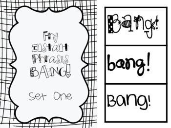 Fry Word List BANG!
