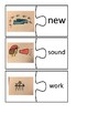 Fry Word List Picture to Word Pairing Puzzles