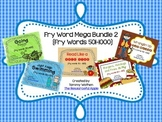 Fry Word MEGA Bundle 2 {Fry Words 501-1000}