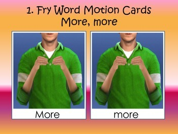 Fry Word Motions