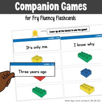 Fry Word Phrases - Print 'n Go Games