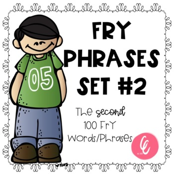 Fry Word Phrases - Second 100 Words/Phrases