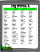 Fry Sight Word Posters - Race Car Theme