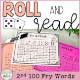 Fry Word Roll and Read - 2nd 100