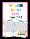 Fry Word Searches- 1st Hundred