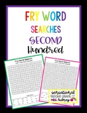 Fry Word Searches, 2nd Hundred