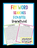 Fry Word Searches- 4th Hundred