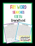 Fry Word Searches, 5th Hundred