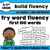 Fry Word Sentences - First 100 Words (Sight Word Fluency)