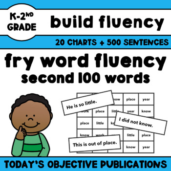 Fry Word Sentences - Second 100 Words (Sight Word Fluency)