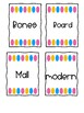 Fry Word Wall Cards 800-900