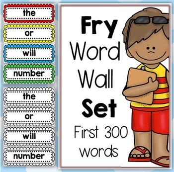 Fry Word Wall