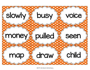 Word Wall Words for Fry Words 301-400
