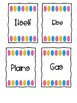 Fry Word Wall cards 700-800
