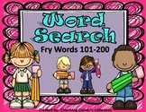 Fry Word (Word Search ~ Set 2)