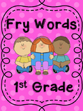 Fry Word cut out Word Wall 1st Grade/K
