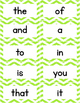 Fry Words 1,000 Sight Word Cards Chevron