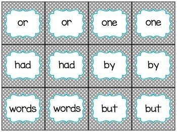 Fry Words 1-100 Bundle