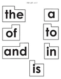Fry Words #1-100 for Word Wall