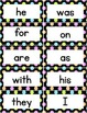 Fry Words 1,000 Sight Word Cards Neon Polka Dots