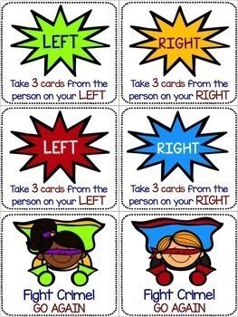 Fry Sight Word Game: Superhero Theme
