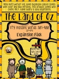 Fry Words 301-400 EXPANSION PACK for The Land of Oz Sight