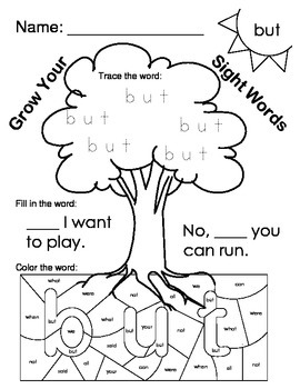 Fry Words 31-40 Worksheets
