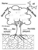 Fry Words 31-40 Worksheets