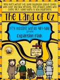Fry Words 401-500 EXPANSION PACK for The Land of Oz Sight