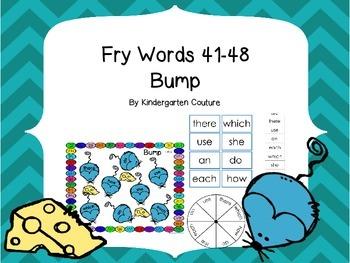 Fry Words 41-48 Bump