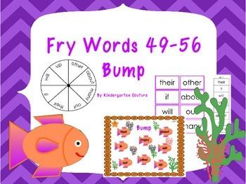 Fry Words 49-56 Bump