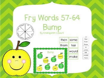 Fry Words 57-64 Bump