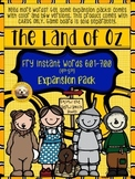 Fry Words 601-700 EXPANSION PACK for The Land of Oz Sight