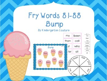 Fry Words 81-88 Bump