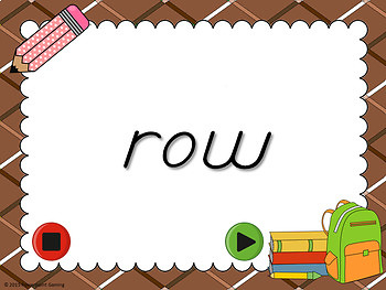 Fry Words - 8th 100 Words - Flash Card Set