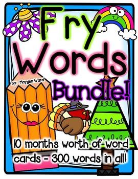 Fry Words BUNDLE